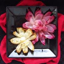 gotowe kwiaty z cebuli