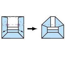 Origami koperta 15