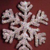 Śnieżynka - ozdoba choinkowa