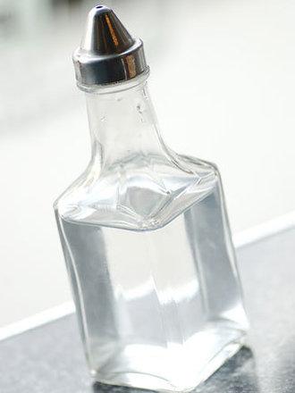 ocet w buteleczce