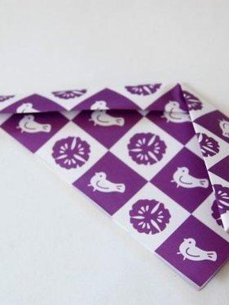 Zajączek origami krok 3