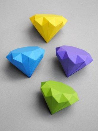diament z papieru