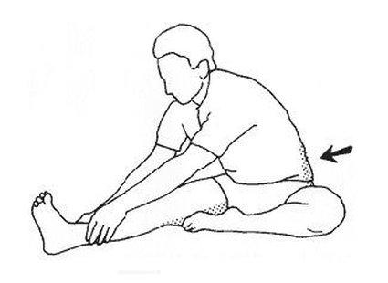 Ćwiczenie bioder i ud krok 3