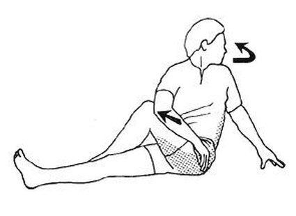 Ćwiczenie bioder i ud krok 5