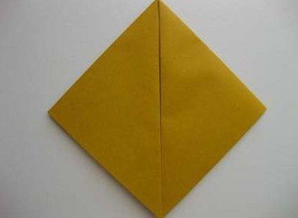 Kot origami krok 6