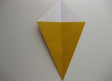 Kot origami krok 14