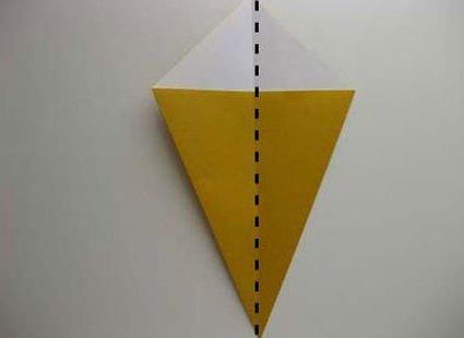 Kot origami krok 15