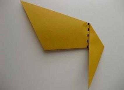 Kot origami krok 18