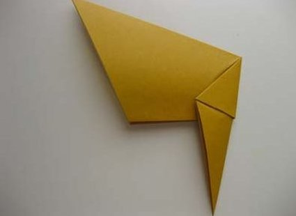 Kot origami krok 19