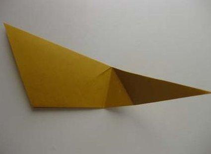 Kot origami krok 20