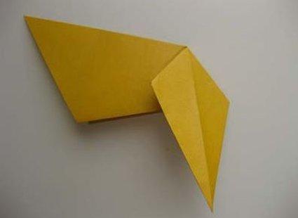 Kot origami krok 21