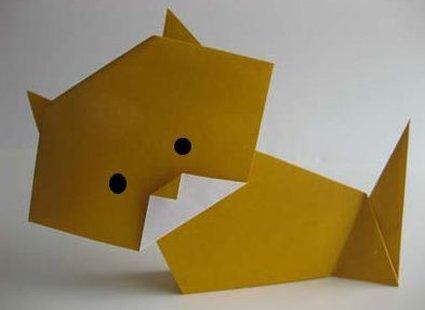 kot origami