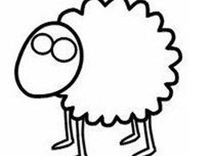 Rysowanie owieczki krok 4