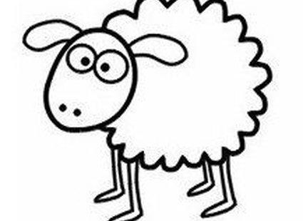 Rysowanie owieczki krok 5
