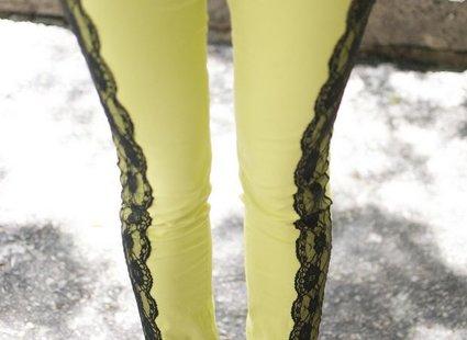Spodnie z koronką krok 5