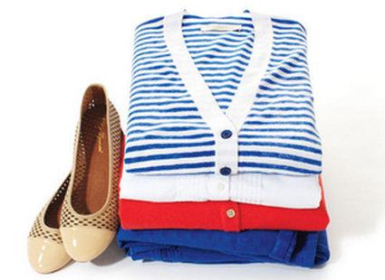 pakowanie ubrań