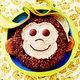 tort dla dziecka - małpka