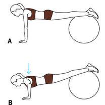 ćwiczenia na triceps - krok 2