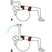 ćwiczenia na triceps - krok 3