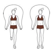 ćwiczenia na skakance - krok 3