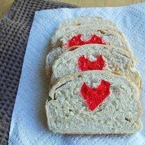 Chlebek z serduszkiem
