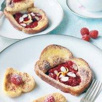 walentynkowe tosty francuskie