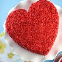 Ciasto walentynkowe serce