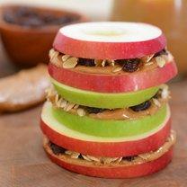 Kanapka z jabłek