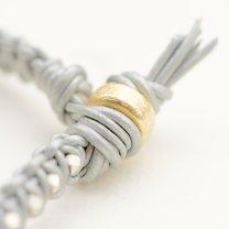 bransoletka makrama z rzemyków - krok 8