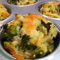Brokuły z ryżem i serem