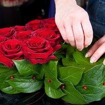 serce z róż i truskawek - krok 6