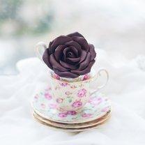 Róża z czekolady