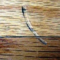 Wgniecenie w meblach drewnianych