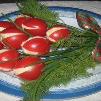 Tulipanowe pomidorki