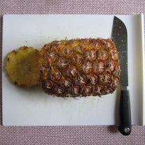 obieranie ananasa - krok 3