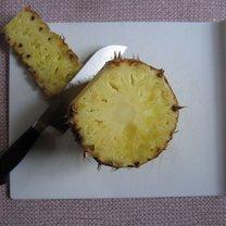 obieranie ananasa - krok 4