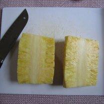 obieranie ananasa - krok 6