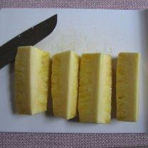 obieranie ananasa - krok 7