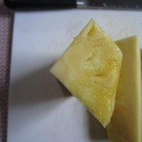 obieranie ananasa - krok 8