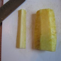 obieranie ananasa - krok 9