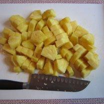 obieranie ananasa - krok 11