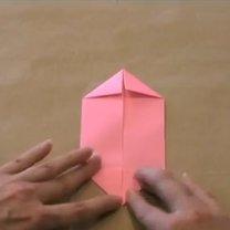 zajączek origami - krok 3