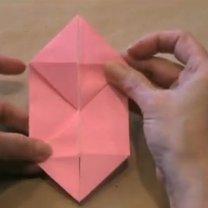 zajączek origami - krok 8