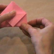 zajączek origami - krok 9