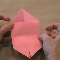 zajączek origami - krok 10