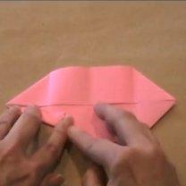 zajączek origami - krok 11