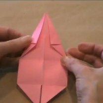 zajączek origami - krok 13