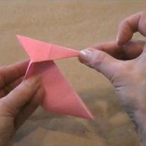 zajączek origami - krok 16