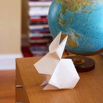 zajączek origami