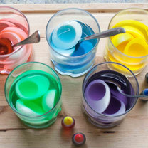 Farbowanie białek